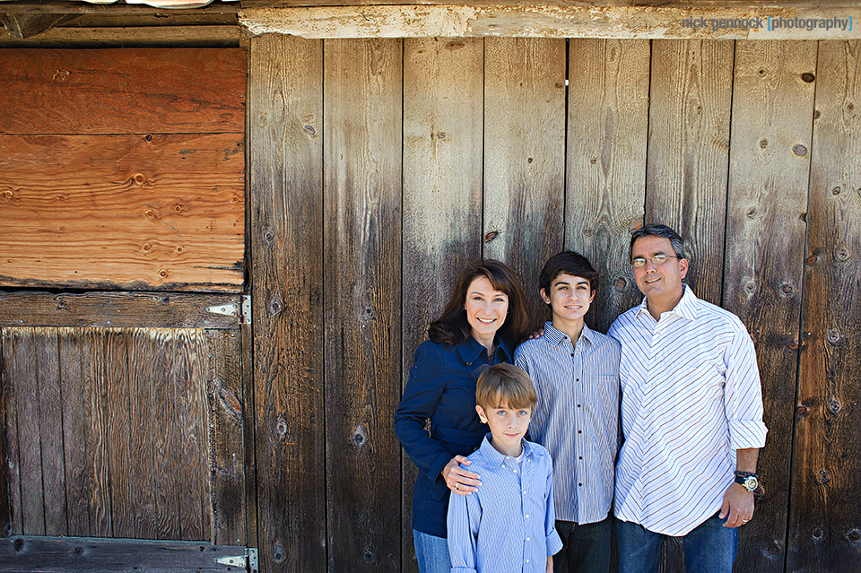 Mather Family Portrait by Nick Gennock Photography in Fresno CA