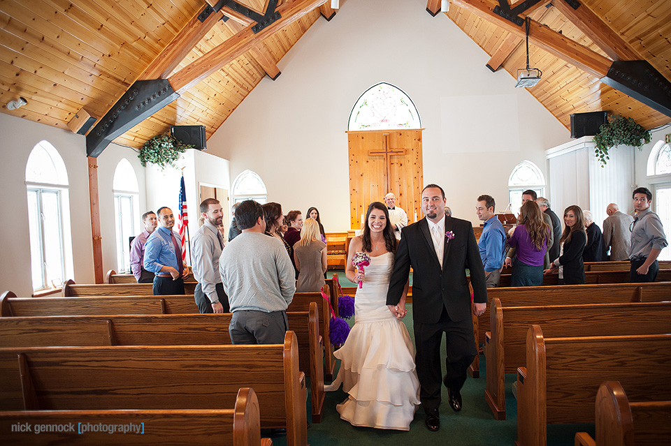 Pam & Mike Marsh Wedding by Nick Gennock Photography