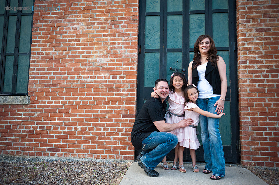 Vizcarra Family photographed by Nick Gennock Photography Fresno CA