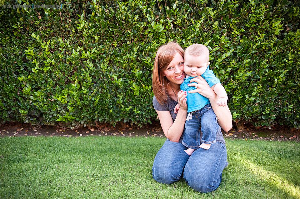 Carson Wyatt 6 Month Photos by Nick Gennock Photography in Fresno CA