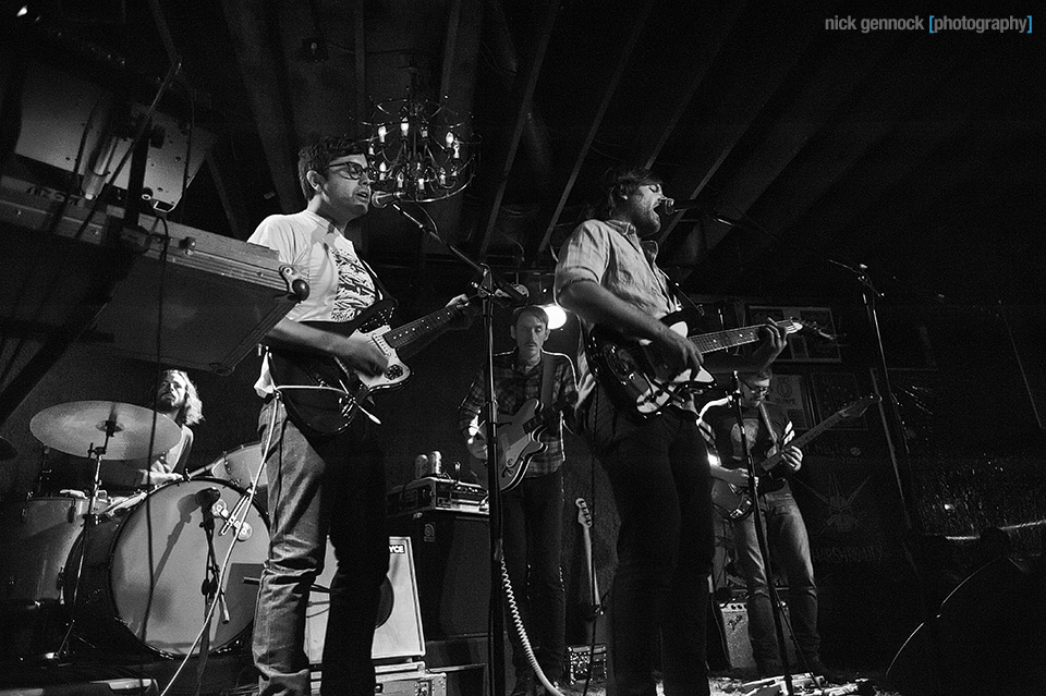 Fruit Bats at Audie's Olympic photographed by Nick Gennock Photography