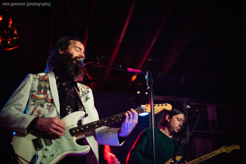 Howlin Rain at Audie's in Fresno, CA by Nick Gennock Photography