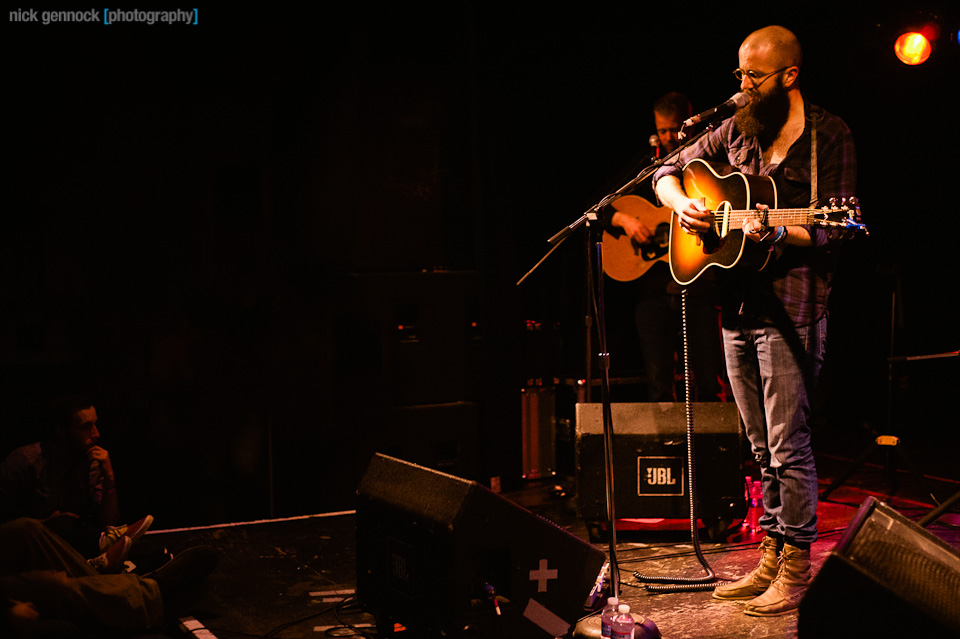 William Fitzsimmons at the Starline by Nick Gennock Photography