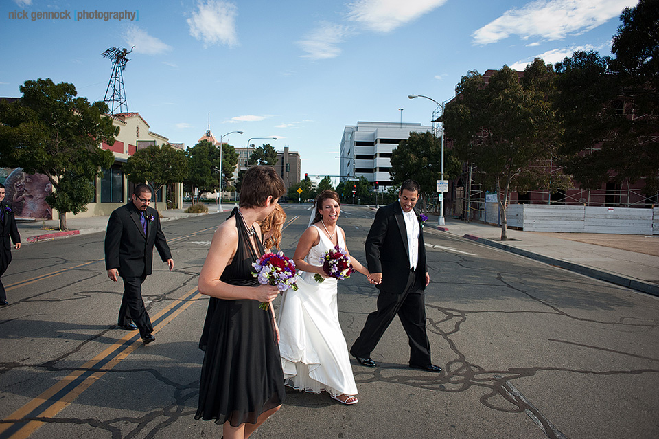 Pam & Isaac Wedding in Downtown Fresno by Nick Gennock Photography