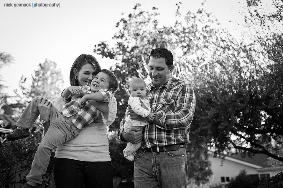 Family Photos of the Baysal Family in Fresno CA by Nick Gennock Photography