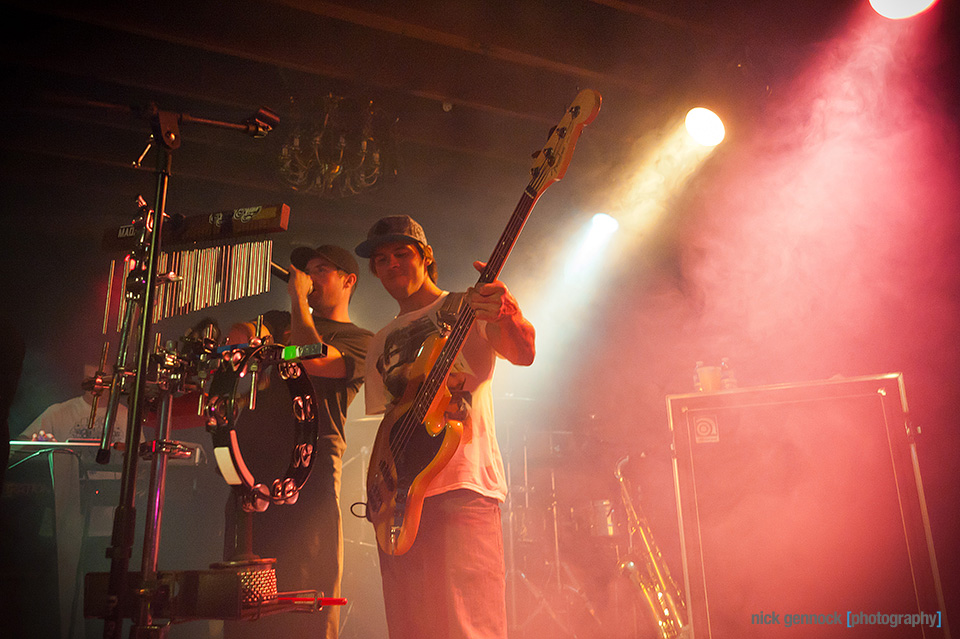 Iration at Audie's Olympic photographed by Nick Gennock Photography