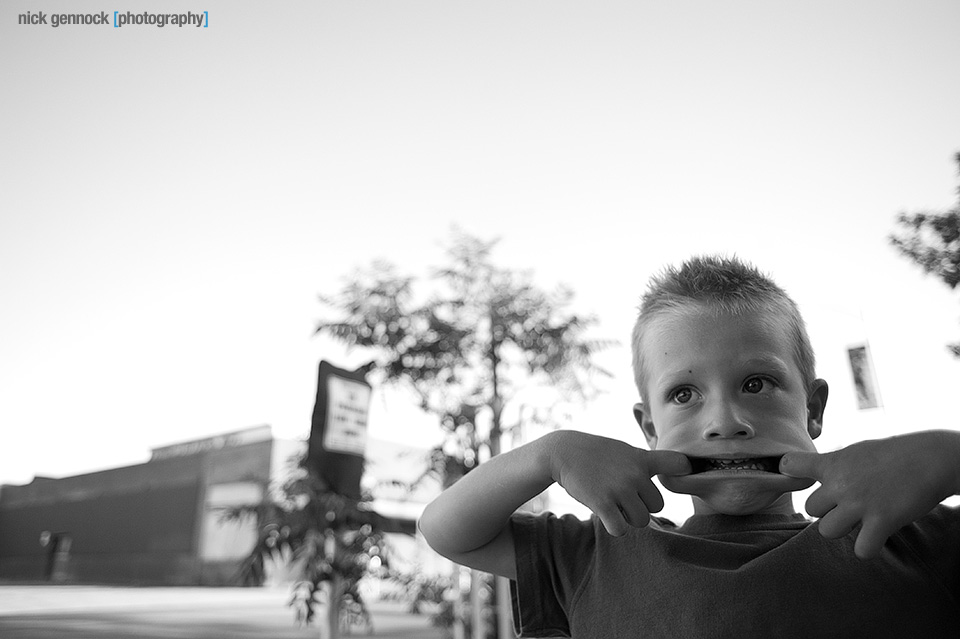 Emery in downtown Fresno by Nick Gennock Photography