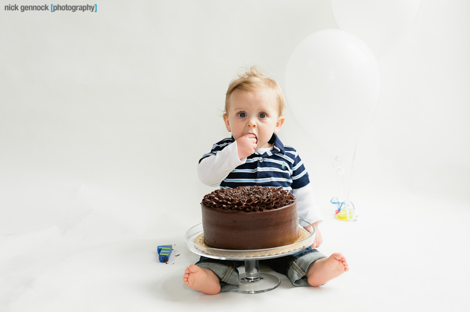 Carson 1 Year by Nick Gennock Photography