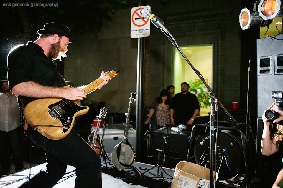 The Silent Comedy at the Catacomb Party Concert in Downtown Fresno